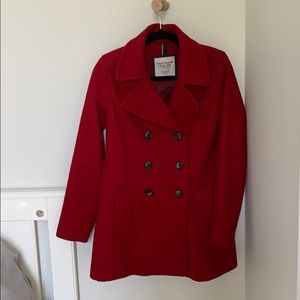 Tommy Hilfiger double breasted pea coat